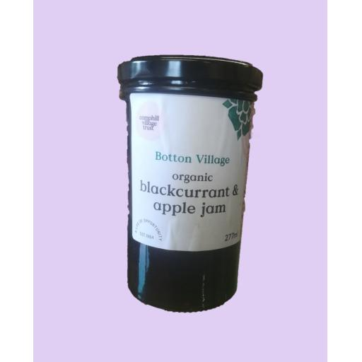 Botton Village Organic Blackcurrant & Apple Jam