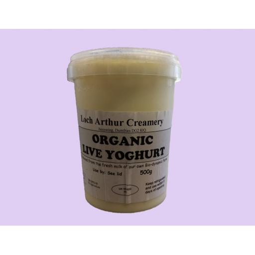 Organic Yoghurt - 500ml - weekly