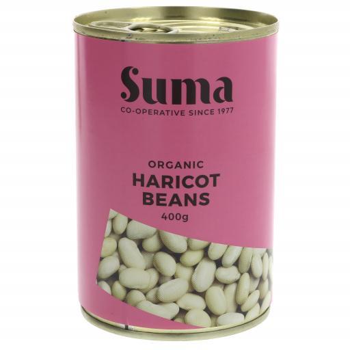 Haricot Beans - organic 400G