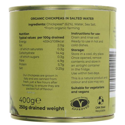 Fresh Chickpeas - Organic 400G
