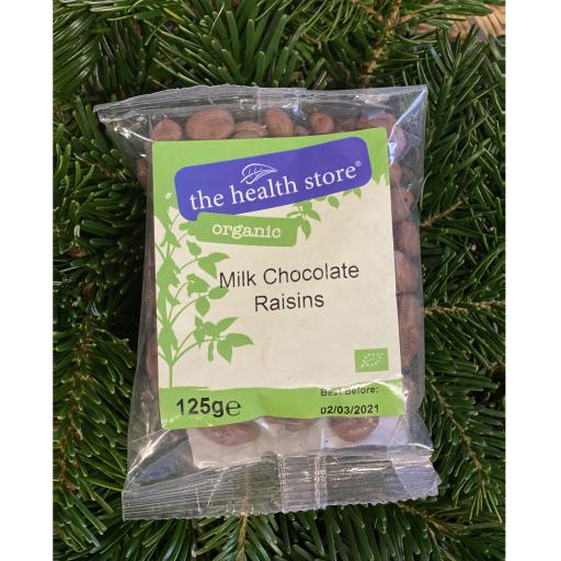 Milk Chocolate Raisins - 125g