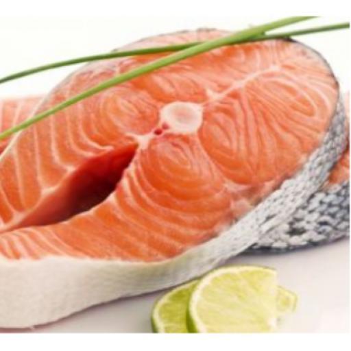 Organic Salmon Steak 273 Approx .