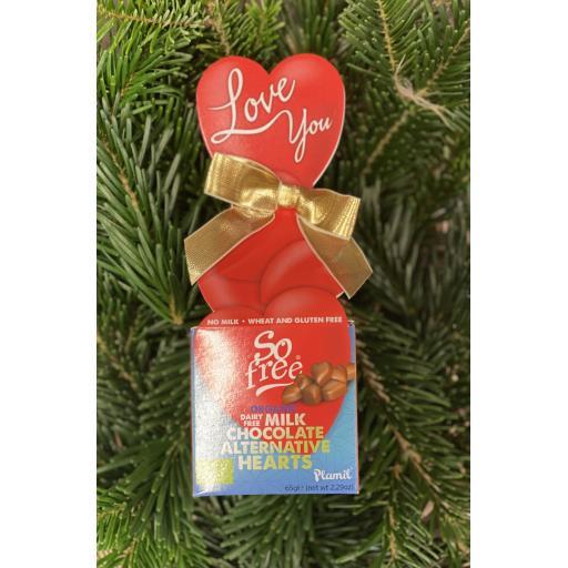 Chocolate Alternative Hearts
