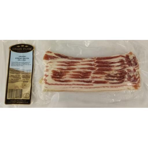 Organic Streaky Bacon 283 Approx.