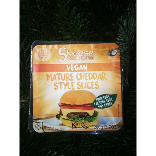 Sheese Mature Cheddar Style Slices 200g