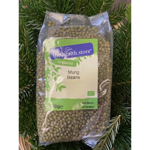 The Health Store Organic Dried Mung Beans - 500g