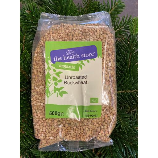 Unroasted Buckwheat - 500g