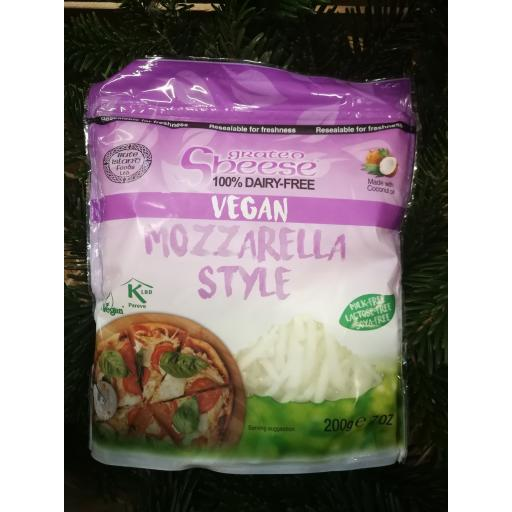 Sheese Mozzarella Style Grated 200g