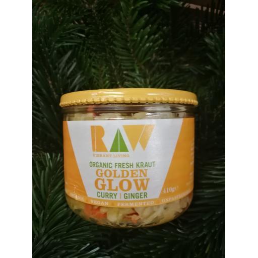Vibrant Living Golden Glow Sauerkraut