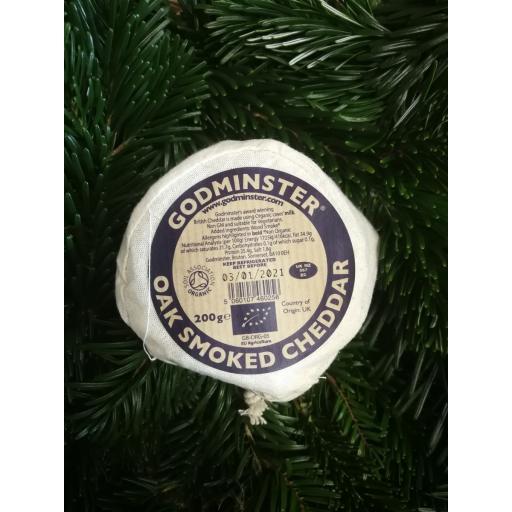 Godminster Oak Smoked Cheddar