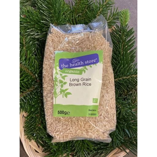 Long Grain Brown Rice - 500g