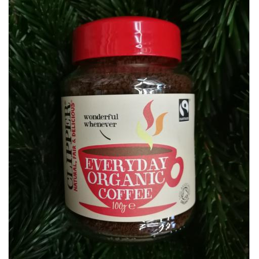 Fairtrade Everyday Organic Instant 100 G