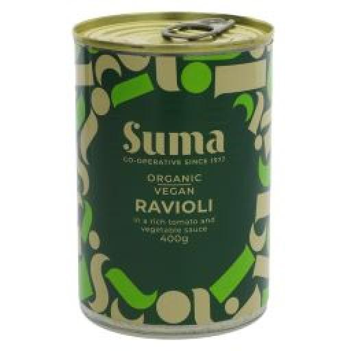 Suma Vegan Ravioli with Vegetable Sauce 400g