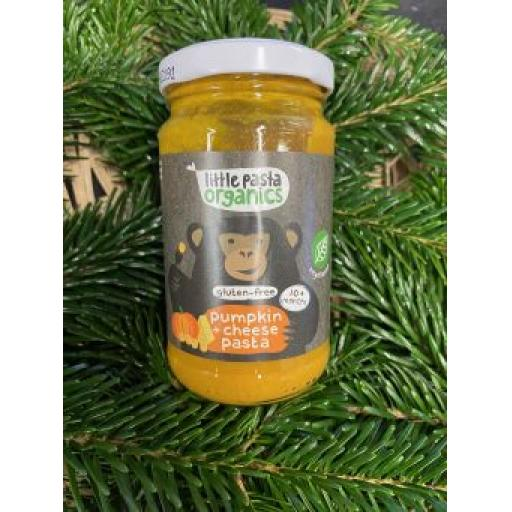 Little Pasta Organics Pumpkin and Cheese Pasta 180g