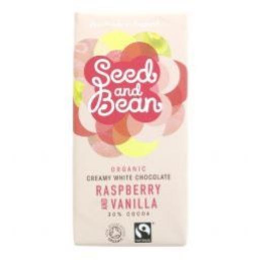 Seed and Bean Organic Raspberry & Vanilla White