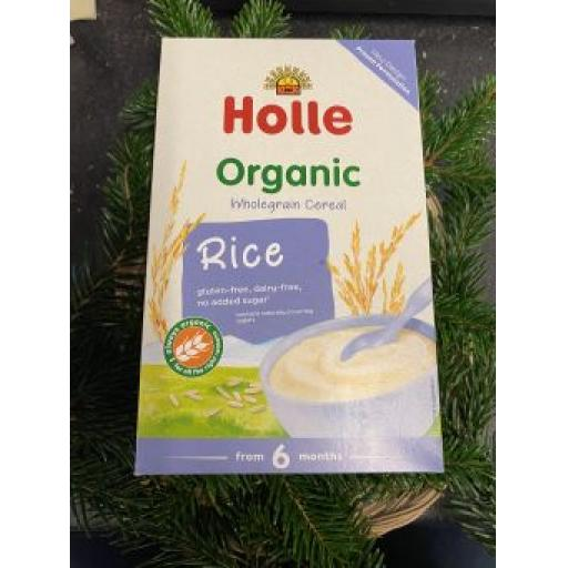 Hollie Organic Rice Baby Cereals 250g