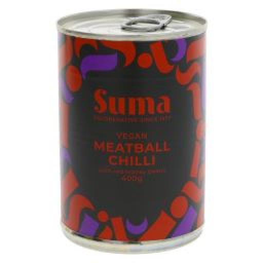 Suma Vegan Meatballs in Chilli 400g