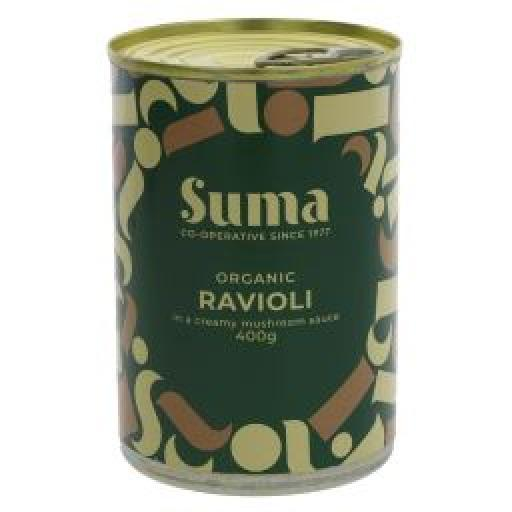 Suma Vegan Ravioli with Mushroom sauce 400g