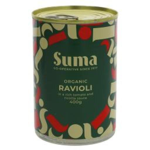 Suma Vegan Ravioli with Tomato & Ricotta sauce 400g