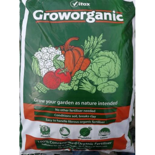GrowOrganic 100% Concentrated Organic Fertiliser - 15kg
