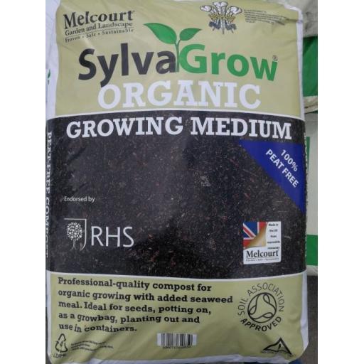 Sylva Grow Organic 100% Peat Free Multi PurposeCompost - 50ltr