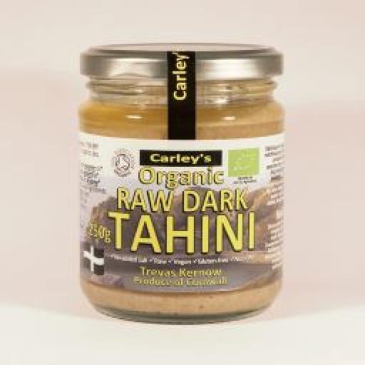 Carley's Organic Raw Dark Tahini 425g