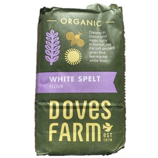 Organic White Self Raising Flour GF - 1KG