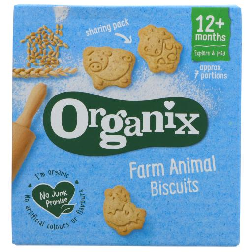 Organic Animal Biscuits - 100G