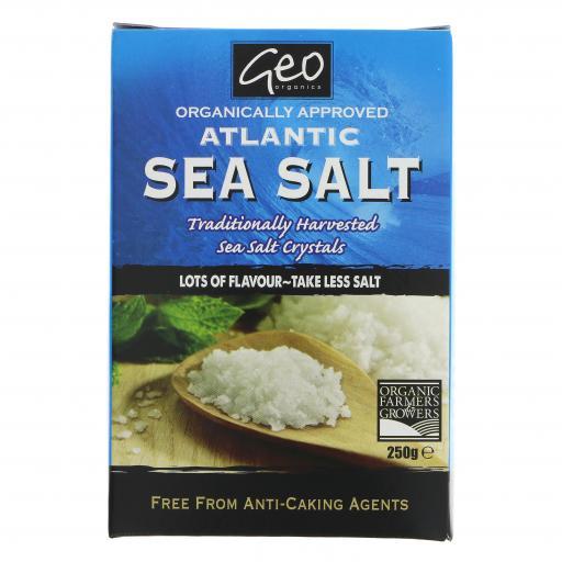 Atlantic Sea Salt Crystals - 250G