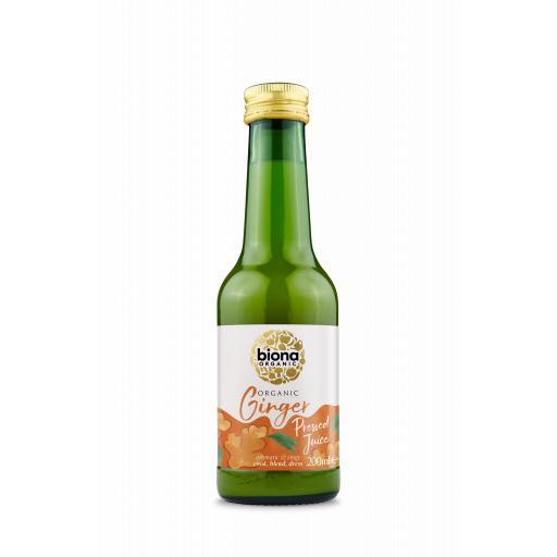 Organic Ginger Juice - 200ML