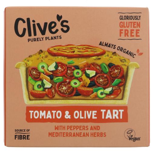 Organic Tomato and Olive Tart - 195G