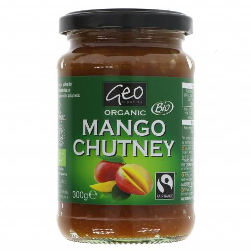 Organic Mango Chutney - 300G