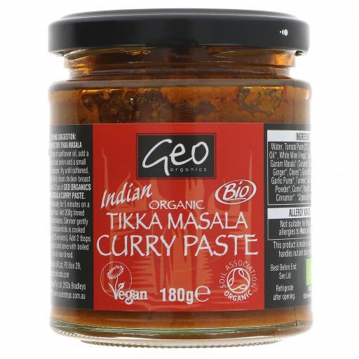 Organic Tikka Masala Paste - 180G