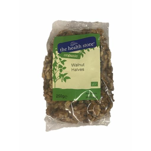 Organic Walnut Halves - 250G