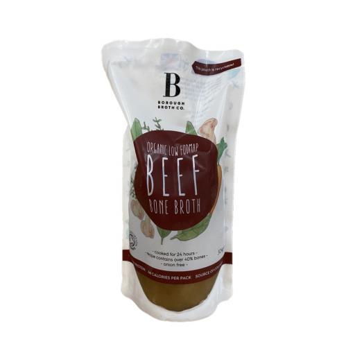 Organic Low FODMAP Beef Broth - 324G