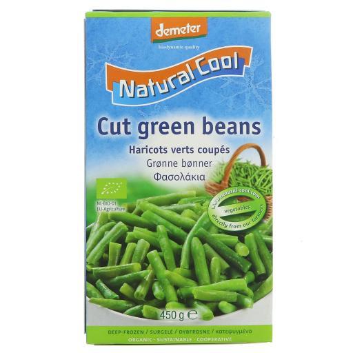 Organic Cut Green Beans - 450G