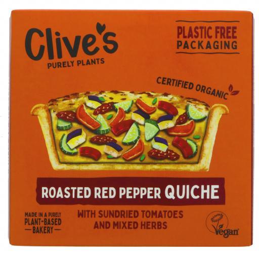 Organic Red Pepper Quiche - 165G