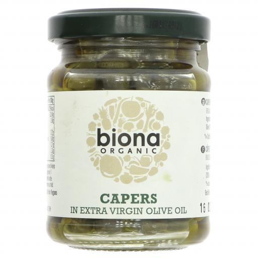 Og Capers in Olive Oil 180G