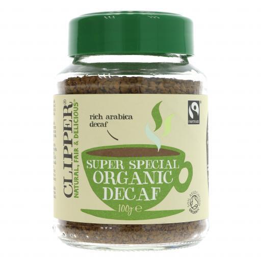 Fairtrade Organic Decaf Instant Coffee - 100G