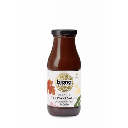Organic Teriaki Stir Fry Sauce - 240ML