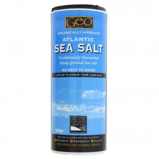 Atlantic Fine Ground Sea Salt - 500G
