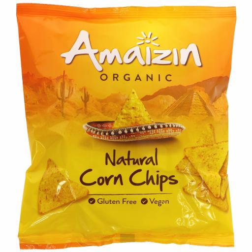 Organic Natural Corn Chips - 75G