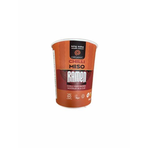 Organic Chilli Miso Ramen Cup - 85G