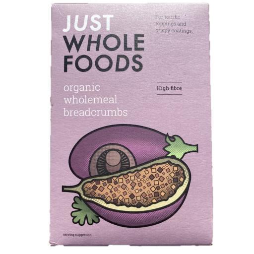 Organic Wholemeal Breadcrumbs - 175G