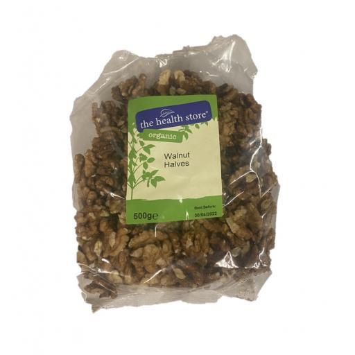 Organic Walnut Halves - 500G