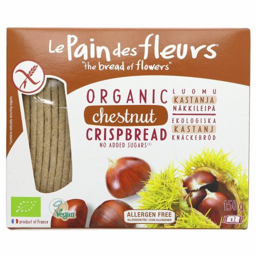 Organic Chestnut Crispbread - 150G