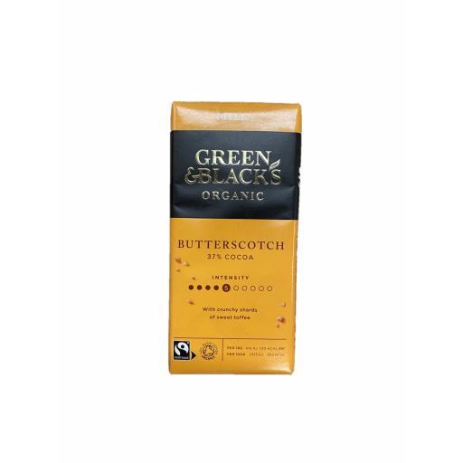 Organic Butterscotch 37% Cocoa - 90G