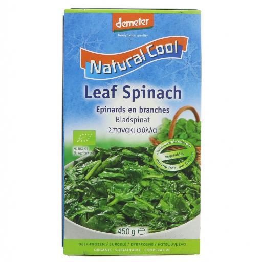 Organic Leaf Spinach - 450G