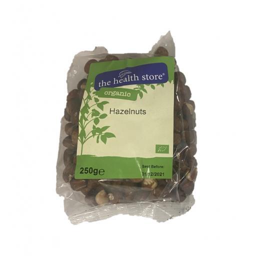 Organic Hazelnuts - 250G