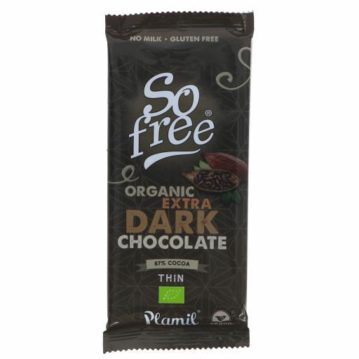 Extra Dark 87% Chocolate - 85G